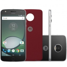 Smartphone Motorola Moto Z Play XT1635 Desbloqueado Preto (preço avista) por R$ 1499