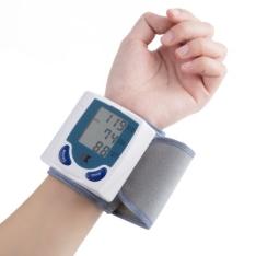 Medidor Digital De Pressão Arterial E Batimentos Cardíacos - R$34