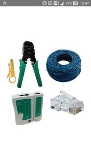 Kit para montar rede ethernet por R$ 105