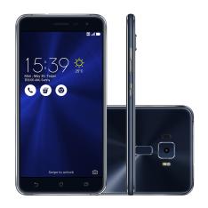 ASUS ZenFone 3 ZE552KL Tela de 5.5 4GB/64GB Snapdragon 625 AZUL IMPORTADO - R$992