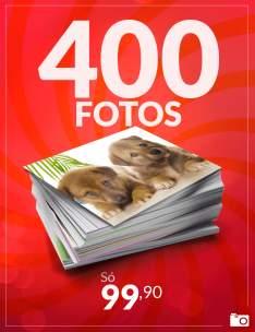 Pacote de 400 Fotos por R$ 99