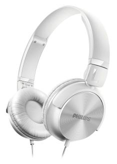 Headphone Philips DJ Driver 32mm, Auricular, Branco - SHL3060WT/00 por R$ 49,90