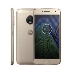 Smartphone Motorola Moto G5 Plus TV XT1683 Ouro com 32GB por R$ 879