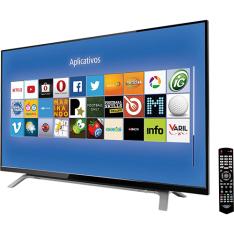 "Smart TV LED 40"" Toshiba 40L2500 Full HD com Conversor Digital 2 HDMI 1 USB 60Hz por R$ 1489"