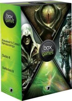 Box – Assassin'S Creed – Renascença, Diablo III – A Ordem, Battlefield III – o Russo – 3 Volumes R$25.90