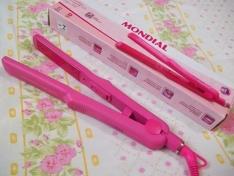 - VISA CHECKOUT -Prancha Alisadora Mondial P-16 Fashion Pink - Bivolt por R$ 5