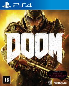 DOOM PS4 R$ 89,91