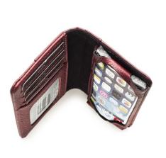 [BAGAGGIO] Carteira e Porta Iphone 5 em couro por R$ 39