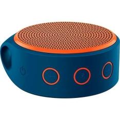 Mini Caixa de Som Wireless x100 Bluetooth Azul e Laranja - Logitech - R$70