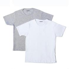 Kit com 2 Camisetas Originale. - Branca/Mescla G  R$15.10