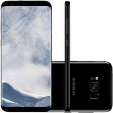 "Smartphone Samsung Galaxy S8 64GB Dual Chip 4G Tela 5,8"" Câmera 12MP Android 7.0 - R$3.399"