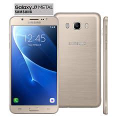 Smartphone Samsung Galaxy J7 Duos Metal Dourado