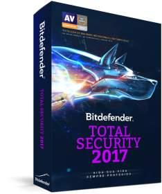 90 dias grátis - Bitdefender Total Security 2017 - 5 dispositivos
