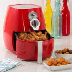 Fritadeira Sem Óleo Fun Kitchen Fritalight Retrô 3L - Várias Cores - R$250