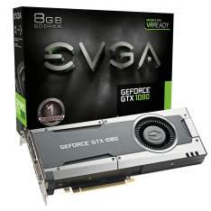 Placa de Vídeo EVGA Geforce GTX 1080 8GB GDDR5X 256Bit