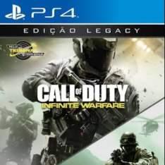 Call Of Duty Infinite Warfare Edição Legacy PS4 - R$99