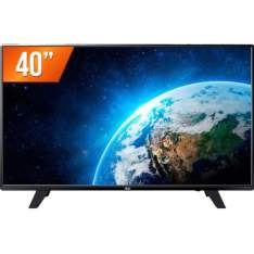 "TV LED 40"" Full HD AOC LE40F1465 HDMI USB Conversor Digital"