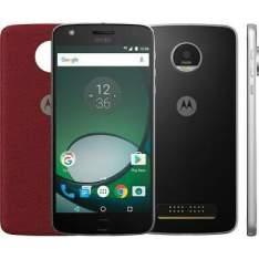 """Play Preto Motorola com Tela de 5,5"""", 4G, 32 GB e Câmera de 16 MP - XT1635 - MRXT1635PTO - R$1390"""
