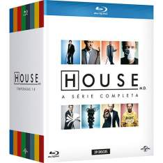 Blu-Ray - House M. D. - A Série Completa (39 Discos) - R$300