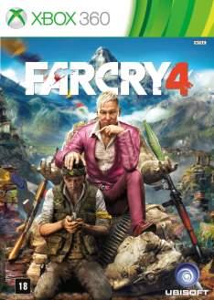 Game Far Cry 4 - Xbox360 por R$ 90