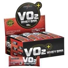 BARRINHA DE PROTEÍNA VO2 Protein Bar IntegralMédica c/ 48x30g R$99