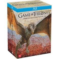 Blu-Ray Game Of Thrones: 1ª a 6ª A. temporada Completa - R$237,49