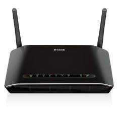Modem e Roteador D-Link DSL2740E 300Mbps - Preto - R$ 100,90