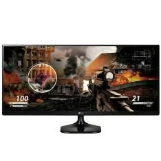 Monitor LG Led 25' class 219 UltraWide IPS FHD 25UM58 P por R$ 700