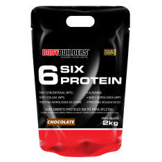 6 Six Protein Refil 2kg Bodybuilders R$53
