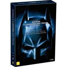 Batman, O Cavaleiro das Trevas - A Trilogia (3 discos DVD) por R$ 19,90