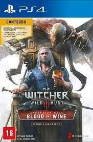 The Witcher 3  PS4 - Pacote de Expansão Blood & Wine - R$40
