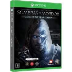 Sombras de Mordor - Edição Completa - XBOX ONE - $59