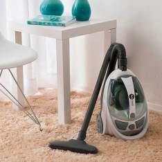 Aspirador de Pó Fun Clean Easy com Filtro Hepa Branco - 1600W - R$170