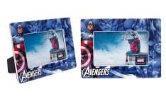 Porta retratos dos super-heróis Marvel - R$9,90