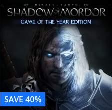 Sombras de Mordor - Edição Completa - PS4 - $30