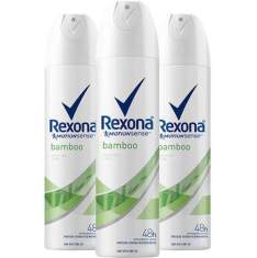 Kit 3 desodorantes aerosol