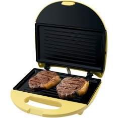 Mini Grill Inox Amarelo Philco - R$40