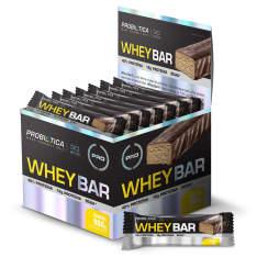 Whey Bar Chocolate C/ 24 Unidades - Probiótica R$ 64