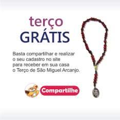 Terço de São Miguel Arcanjo Grátis