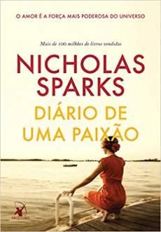 Diário de Uma Paixão - Nicholas Sparks - R$ 21