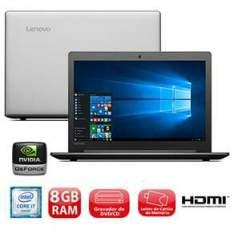 """Notebook Lenovo IdeaPad 310, i7-6500U, 8GB, 1TB, VGA 2GB, LED 15.6"""", Windows 10 - R$ 2699"""