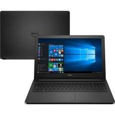 "Notebook Dell Inspiron i15-5566-A30P, i5-7200U, 4GB RAM, 1TB HD, LED 15.6"", Windows 10 - R$ 1854"