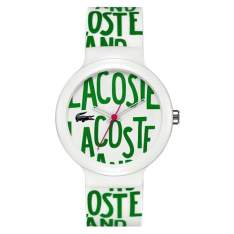[VIVARA] Relógio Lacoste Unissex Borracha Branca - 2020055 - R$203