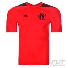 Camiseta Adidas Flamengo Techfit Vermelha R$79,90