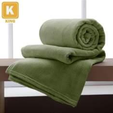 Cobertor de microfibra tamanho queen  (várias cores) - R$ 40