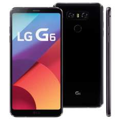 "Smartphone LG G6 Tela 5.7"" Quad-core 32GB 4G 13MP R$ 2549"