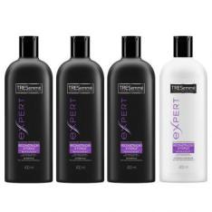Kit Tresemme 3 Shampoos 400ml + 1 Condicionador 400ml - R$30