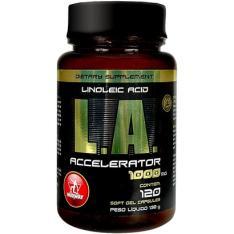 LA Accelerator 120 Soft Gel (Linoleic Acid) - Midway R$45