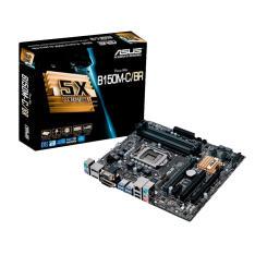 Placa Mãe ASUS Intel B150 LGA1151 B150M-C D3/BR - R$335