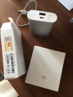 Carregador portátil Xiaomi 5.1V 10000mAh por R$ 63